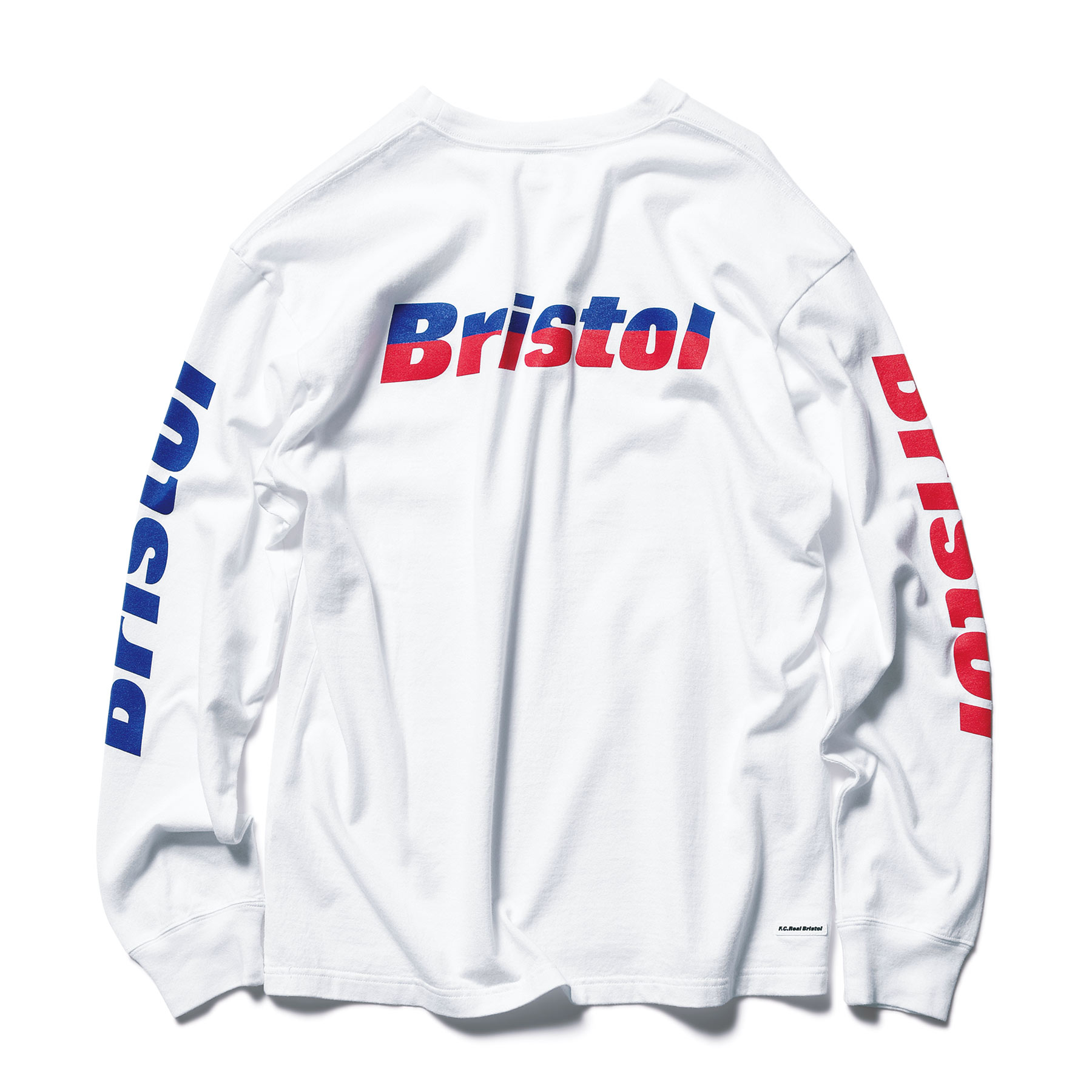 F.C.Real Bristol / L/S COLOR COMBINATION TEE -white