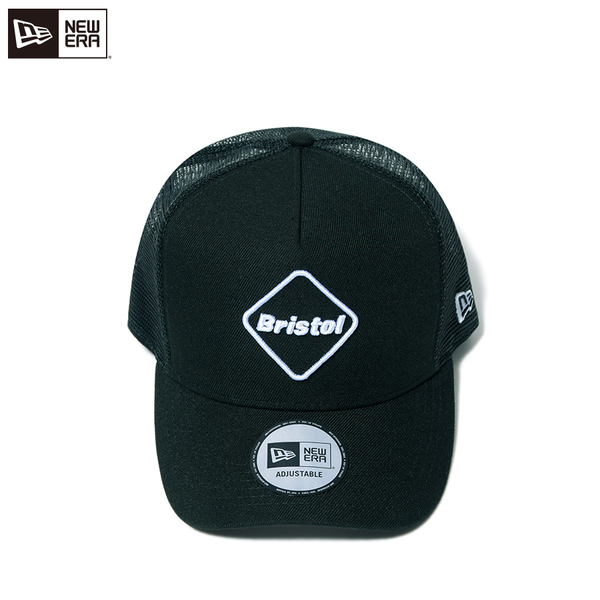 F.C.Real Bristol / NEW ERA EMBLEM MESH CAP -black