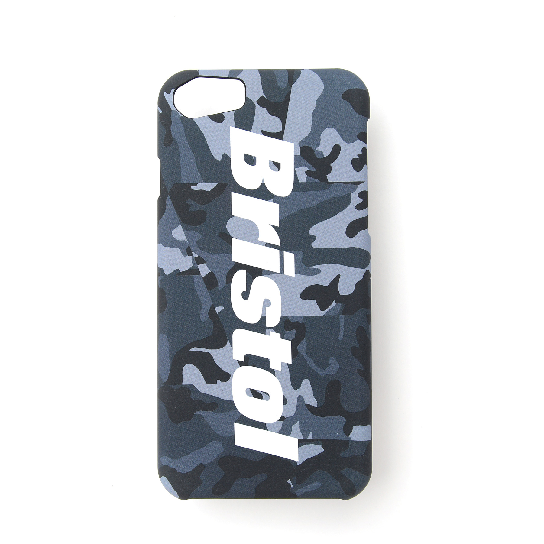 F.C.Real Bristol / CAMOUFLAGE iPhone CASE (for iPhone8) -black