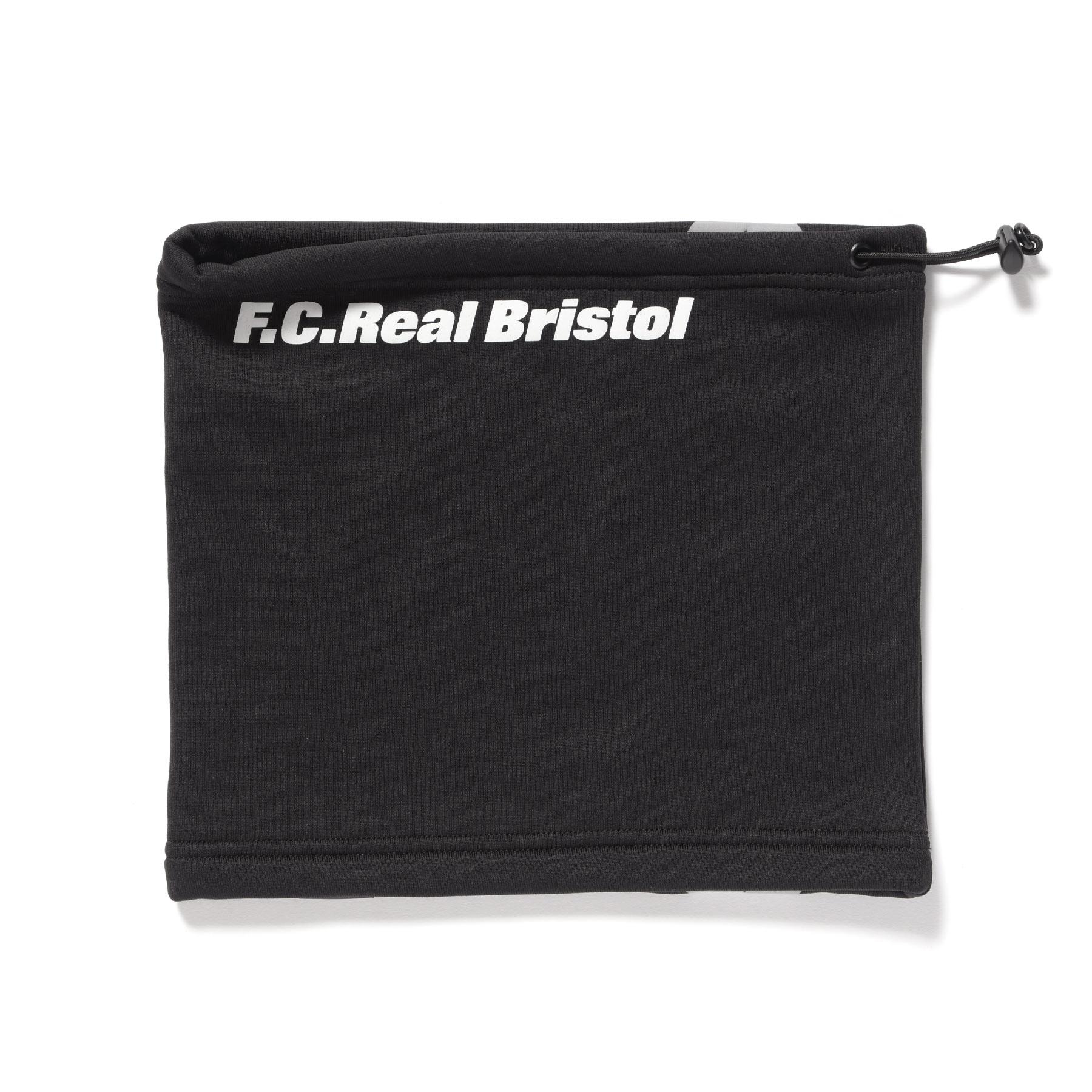 F.C.Real Bristol / POLARTEC FLEECE NECK WARMER -BLACK