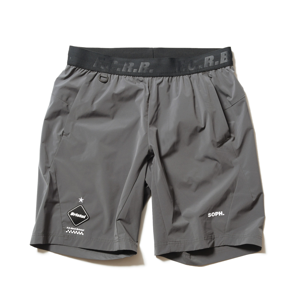 F.C.Real Bristol / STRETCH LIGHT WEIGHT SHORTS -Gray