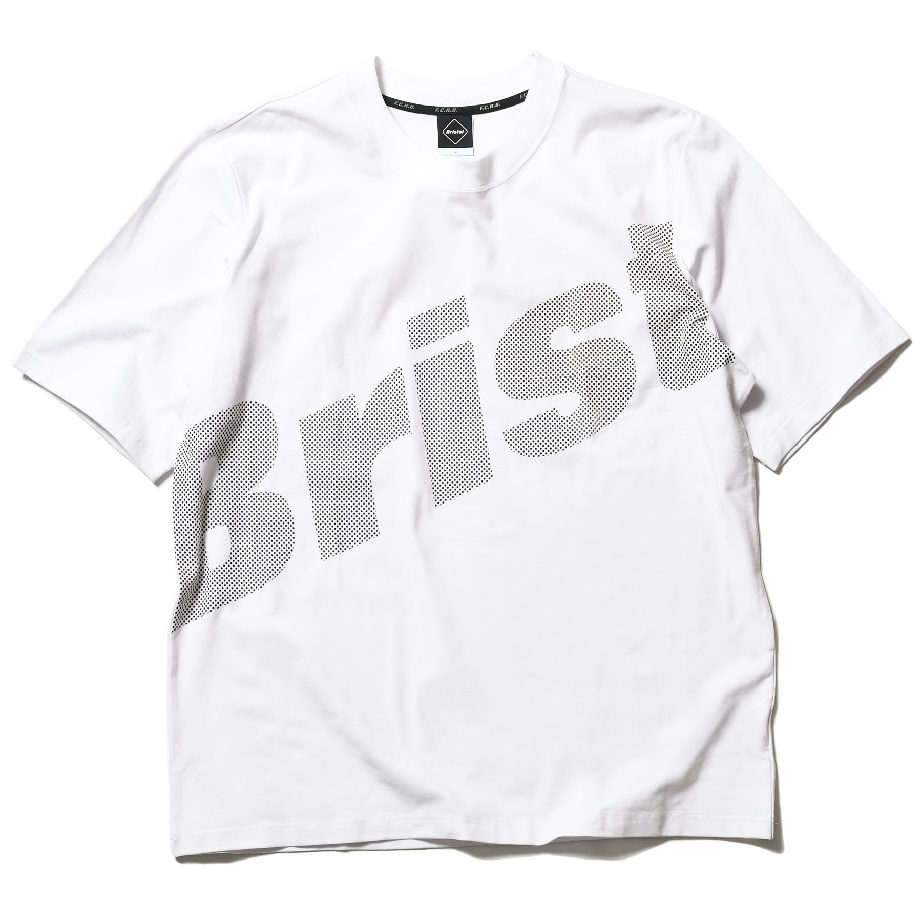 F.C.Real Bristol / BIG LOGO RELAX FIT TEE -White