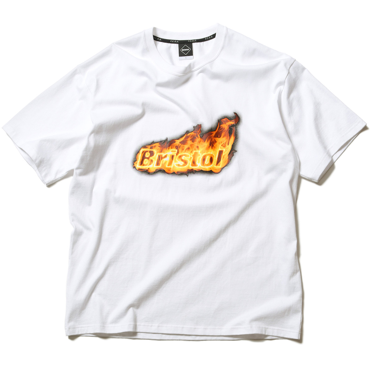 F.C.Real Bristol / FIRE BRISTOL S/S BIG TEE -White