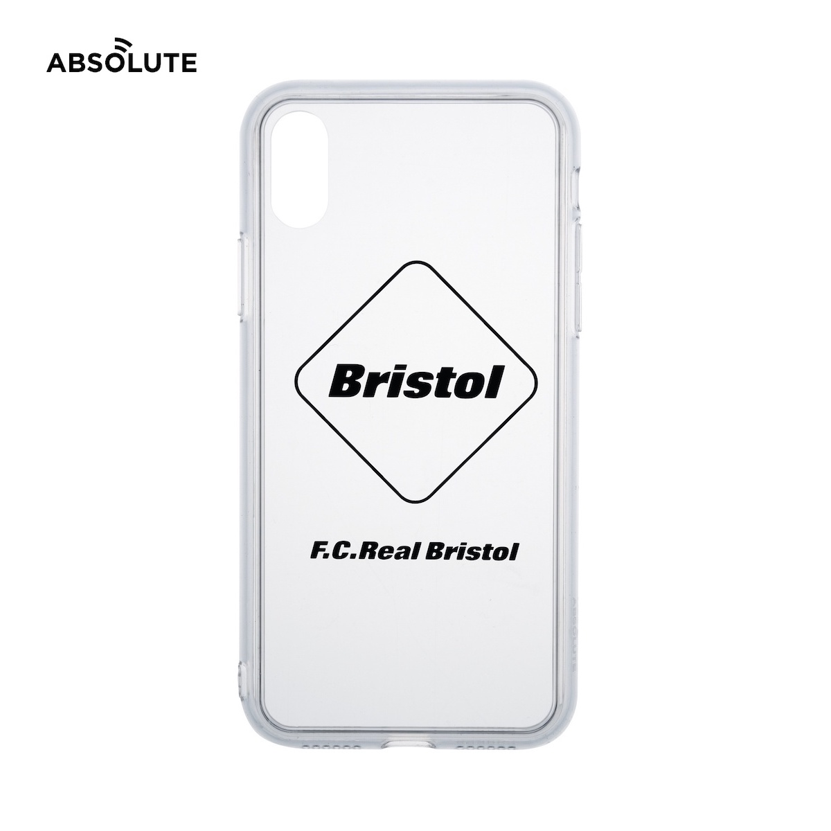 F.C.Real Bristol / ABSOLUTE EMBLEM PHONE CASE for iPhone X / XS (Black)