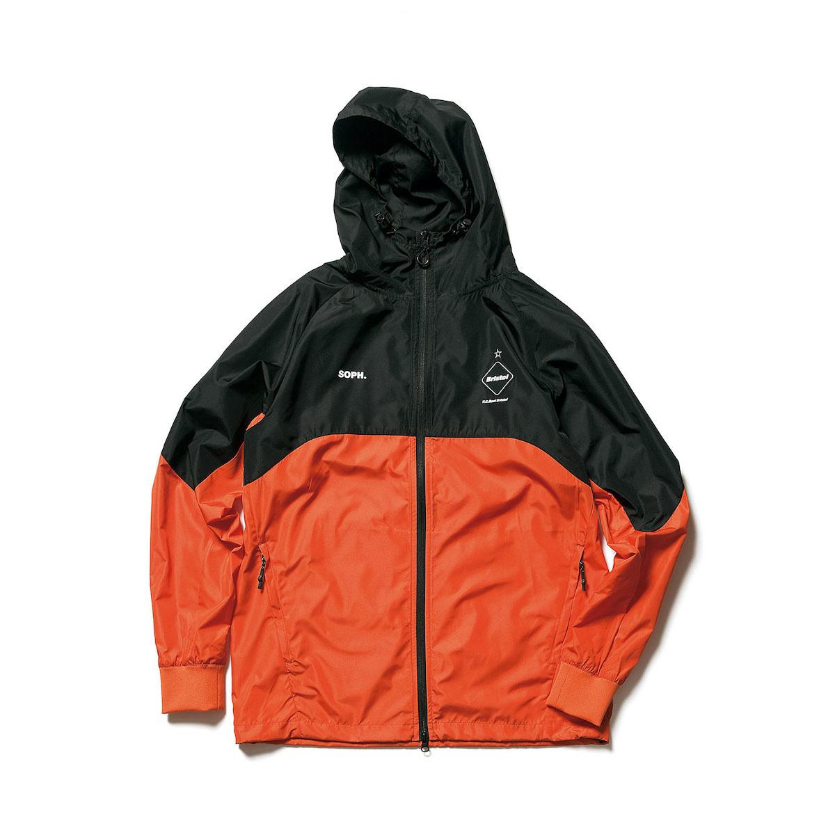 F.C.Real Bristol / VENTILATION TRACK JACKET (orange)