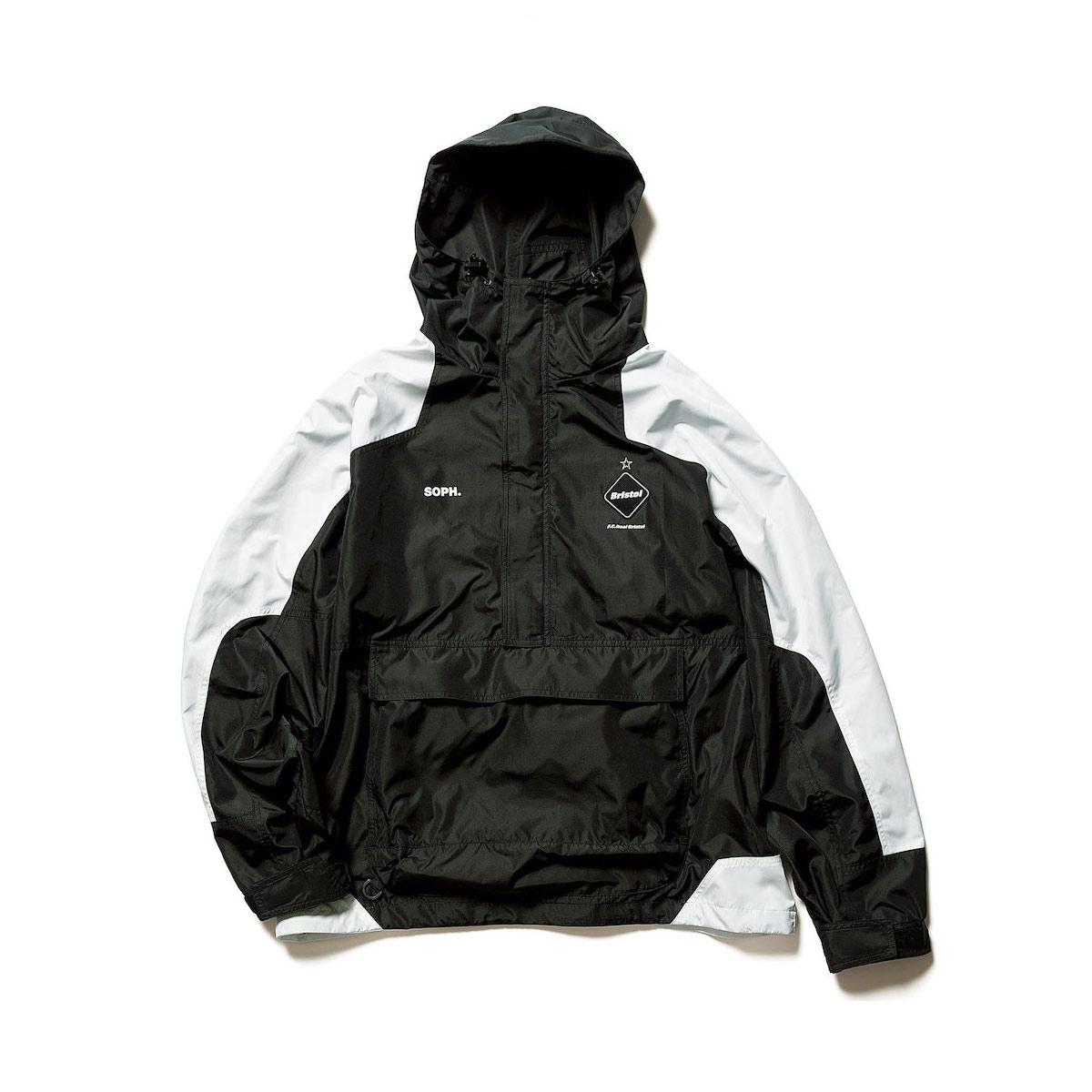F.C.Real Bristol / PACKABLE ANORAK (black)