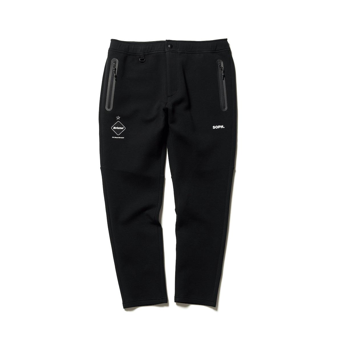 F.C.Real Bristol / FLAT HEM SWEAT TRAINING PANTS (black)