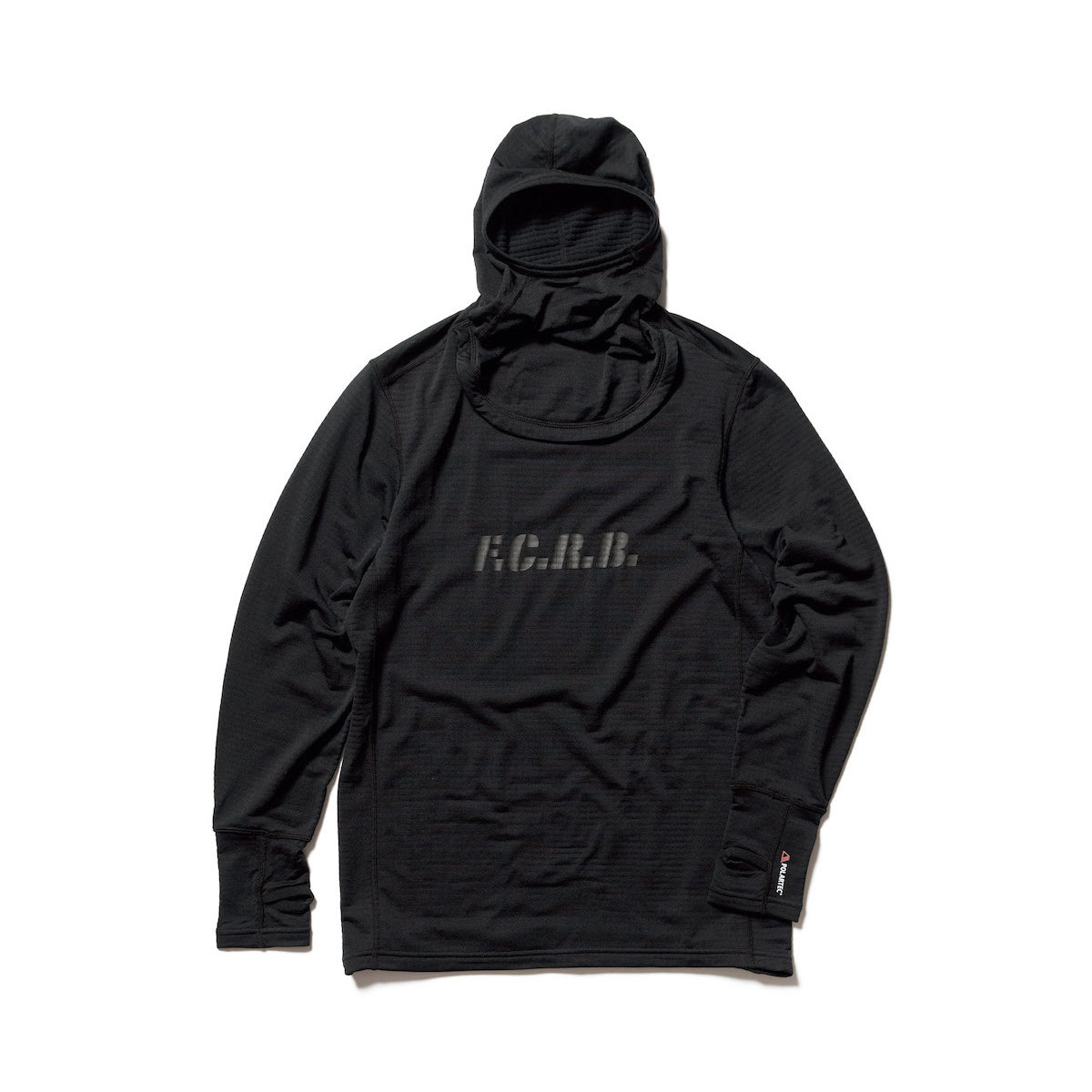 F.C.Real Bristol / POLARTEC BASE LAYER HOODIE (Black)