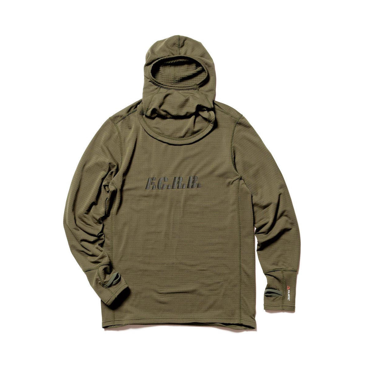 F.C.Real Bristol / POLARTEC BASE LAYER HOODIE (Khaki)