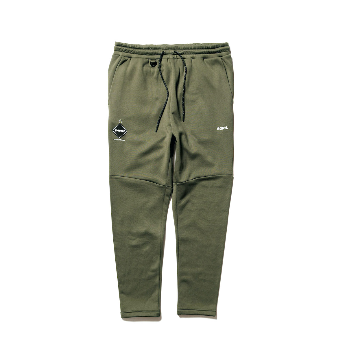 F.C.Real Bristol / POLARTEC POWER STRETCH TRAINING PANTS (Khaki)