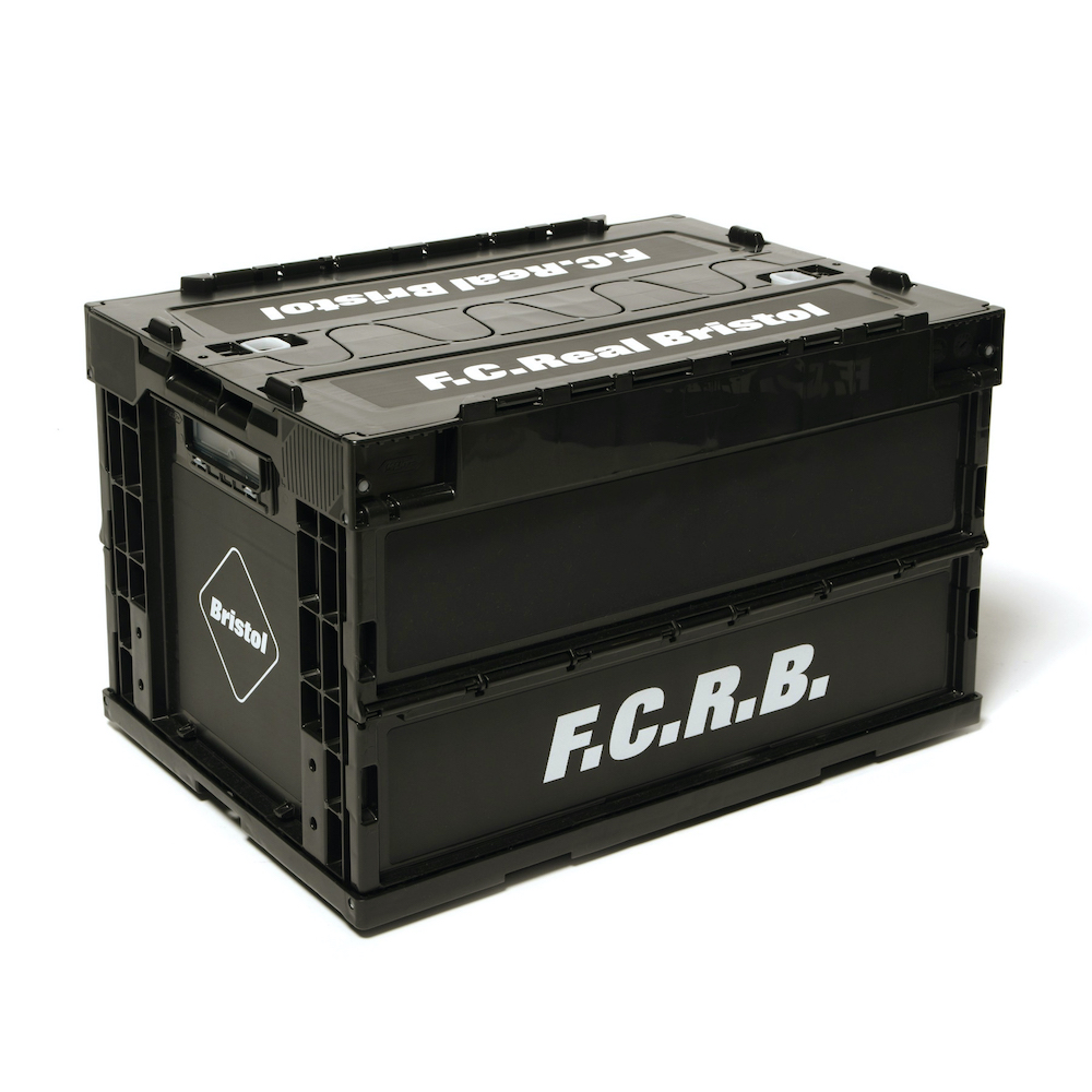 F.C.Real Bristol / LARGE FOLDABLE CONTAINER (Black)