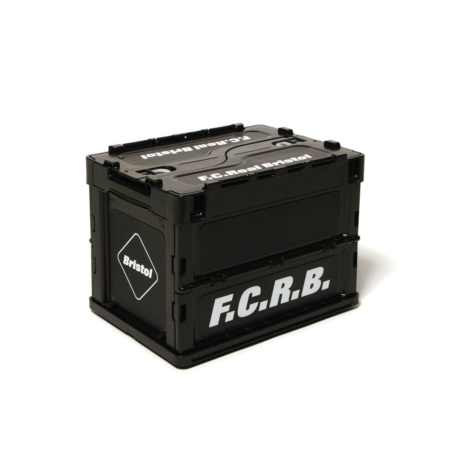 F.C.Real Bristol / SMALL FOLDABLE CONTAINER (black)