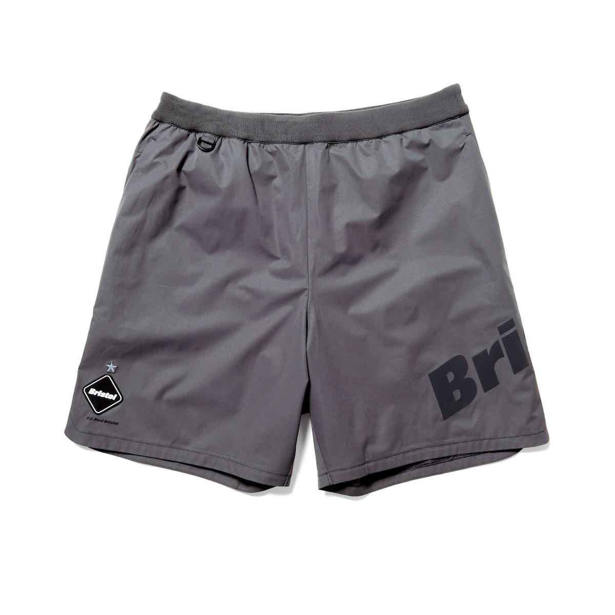 F.C.Real Bristol / 4WAY STRETCH SLASH SHORTS (Gray)