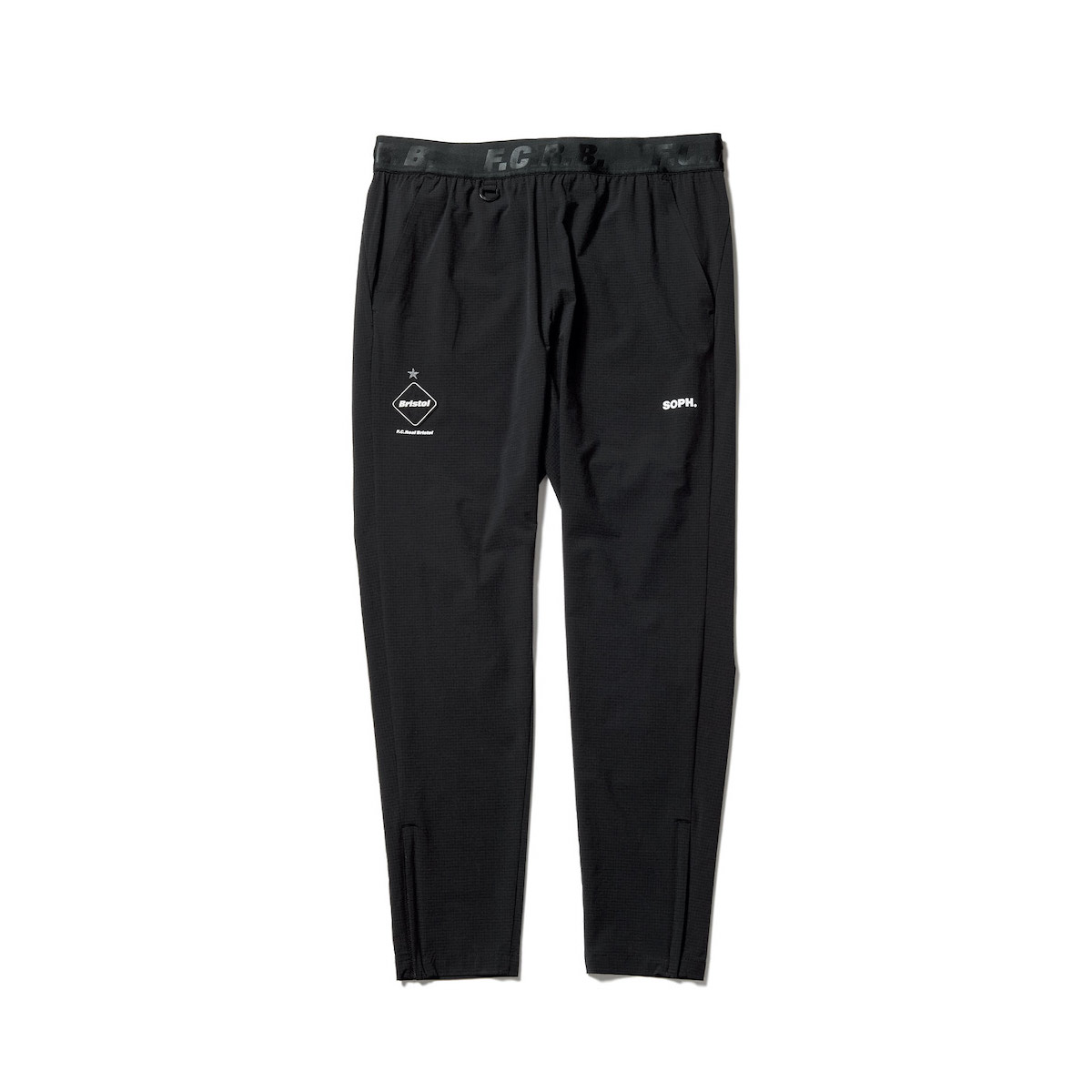 F.C.Real Bristol / STRETCH LIGHT WEIGHT EASY PANTS (Black)正面