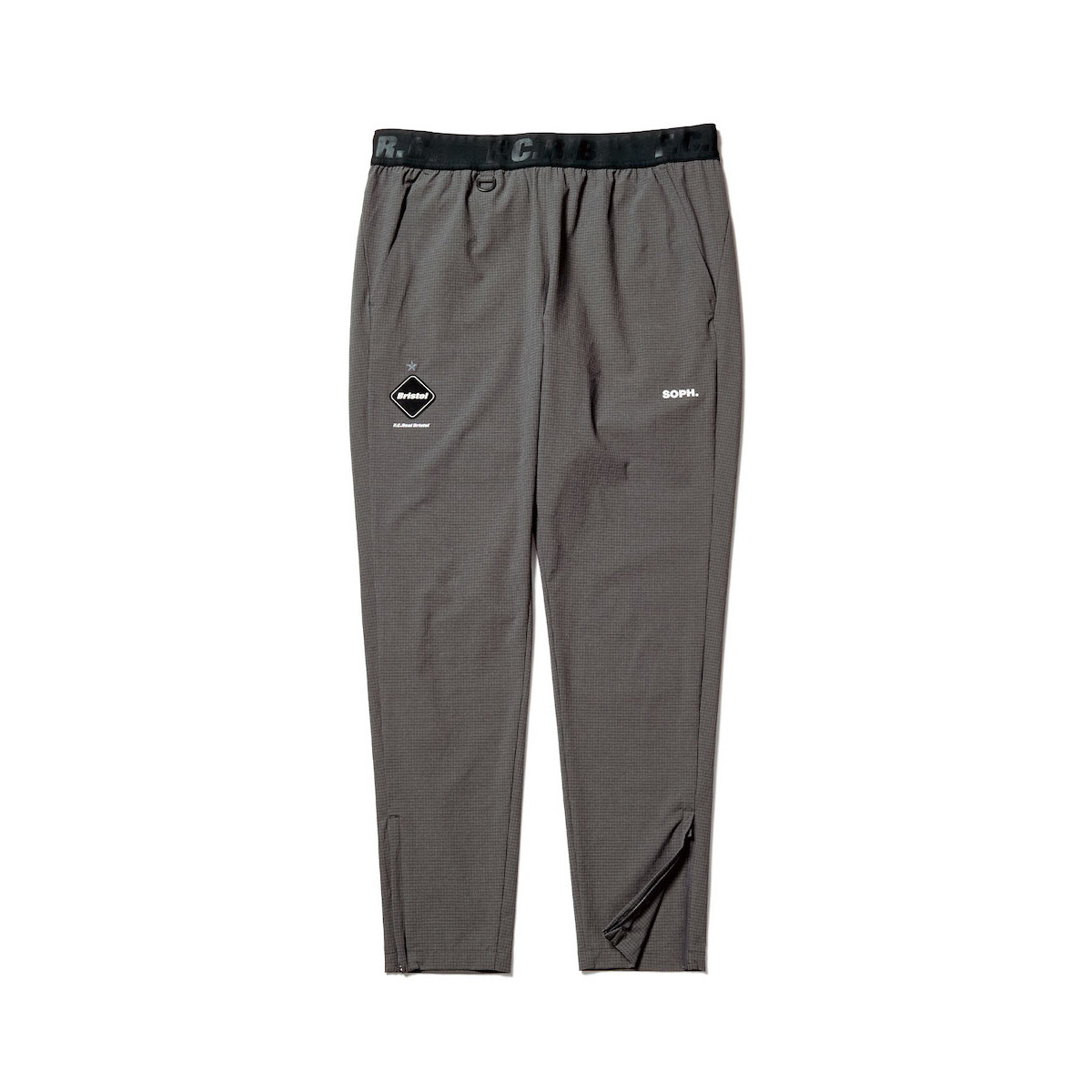 F.C.Real Bristol / STRETCH LIGHT WEIGHT EASY PANTS (Gray)正面