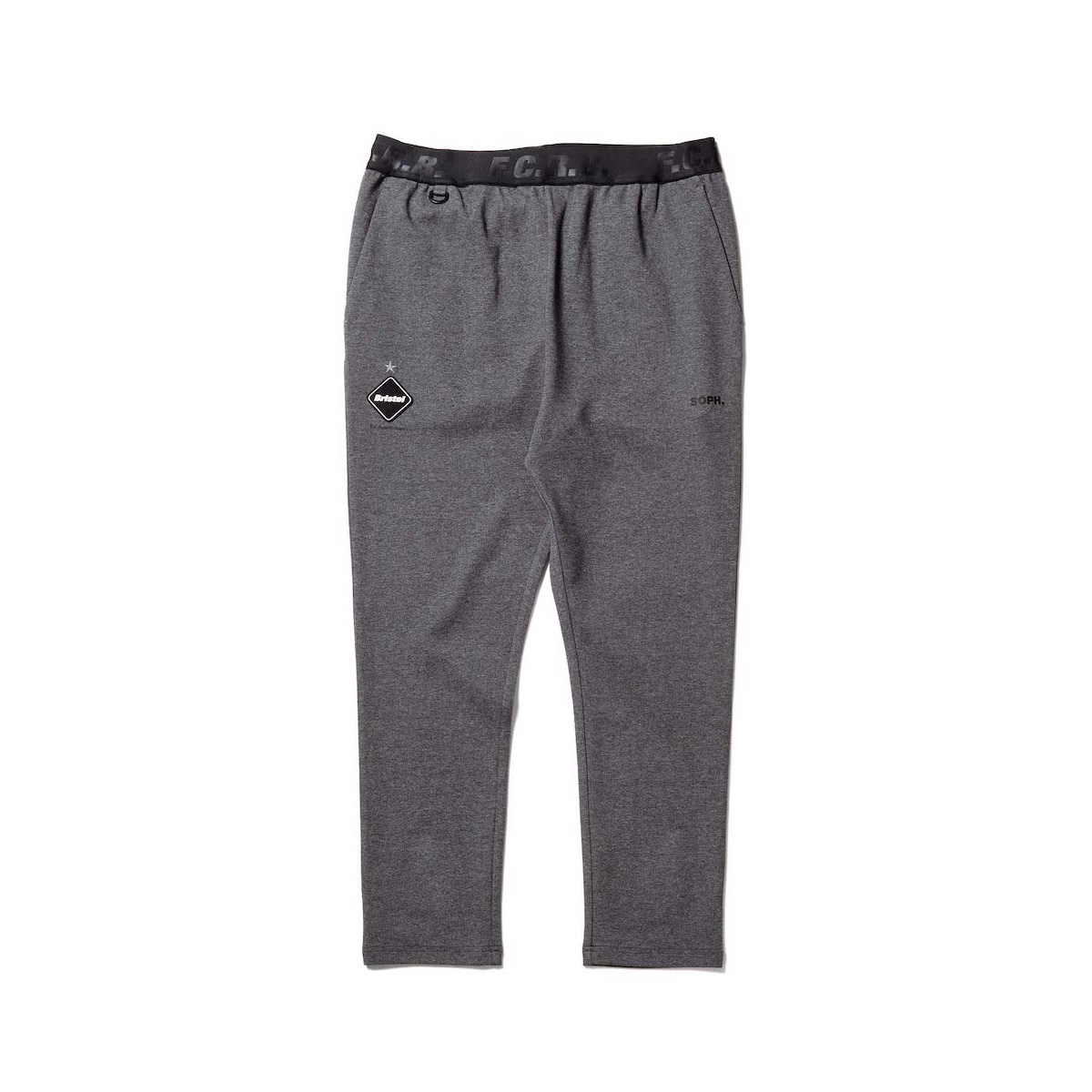 F.C.Real Bristol / RELAX FIT LONG PANTS (Gray)正面