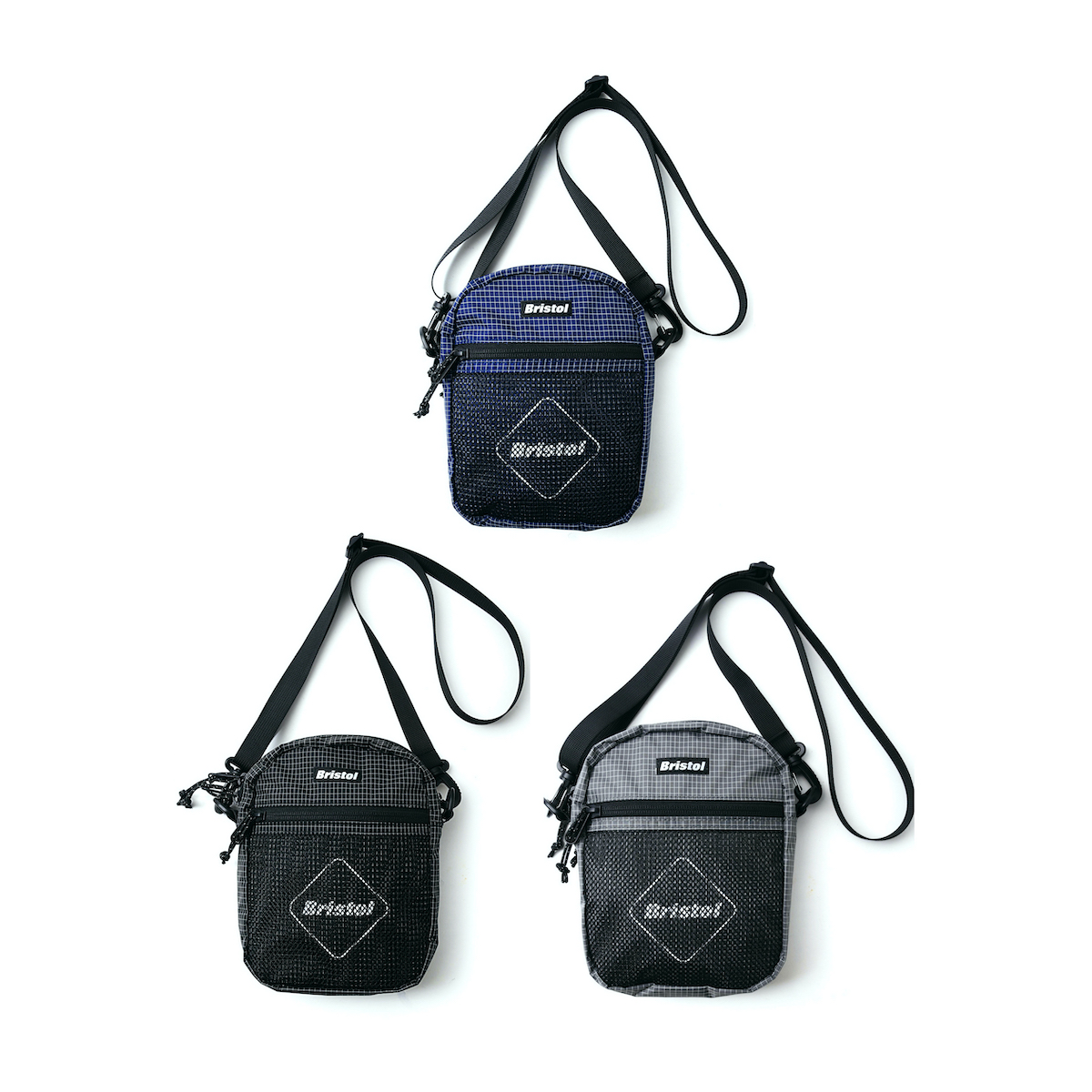 F.C.Real Bristol / FRONT MESH POUCH