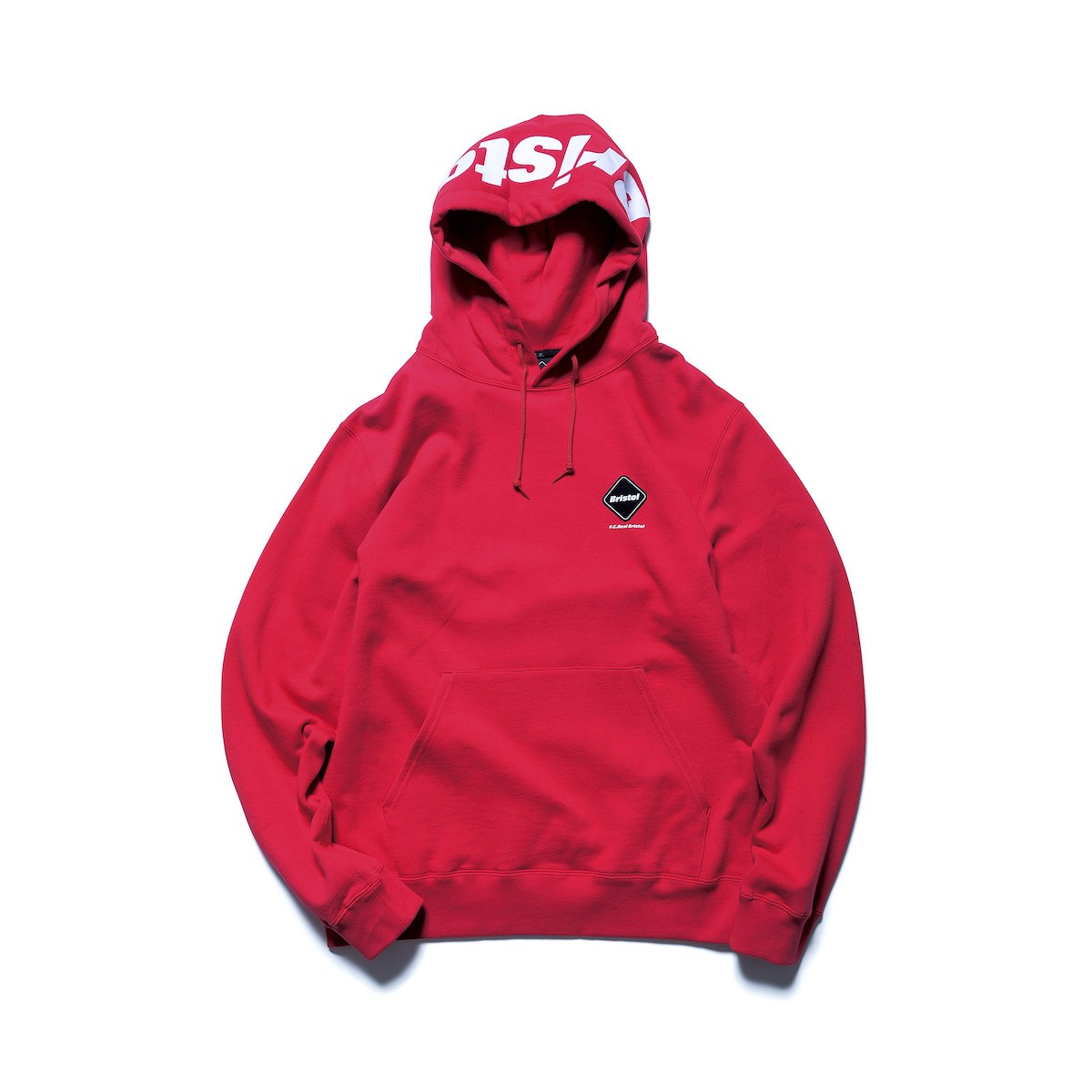 F.C.Real Bristol / LOGO PULLOVER SWEAT HOODIE (Red)