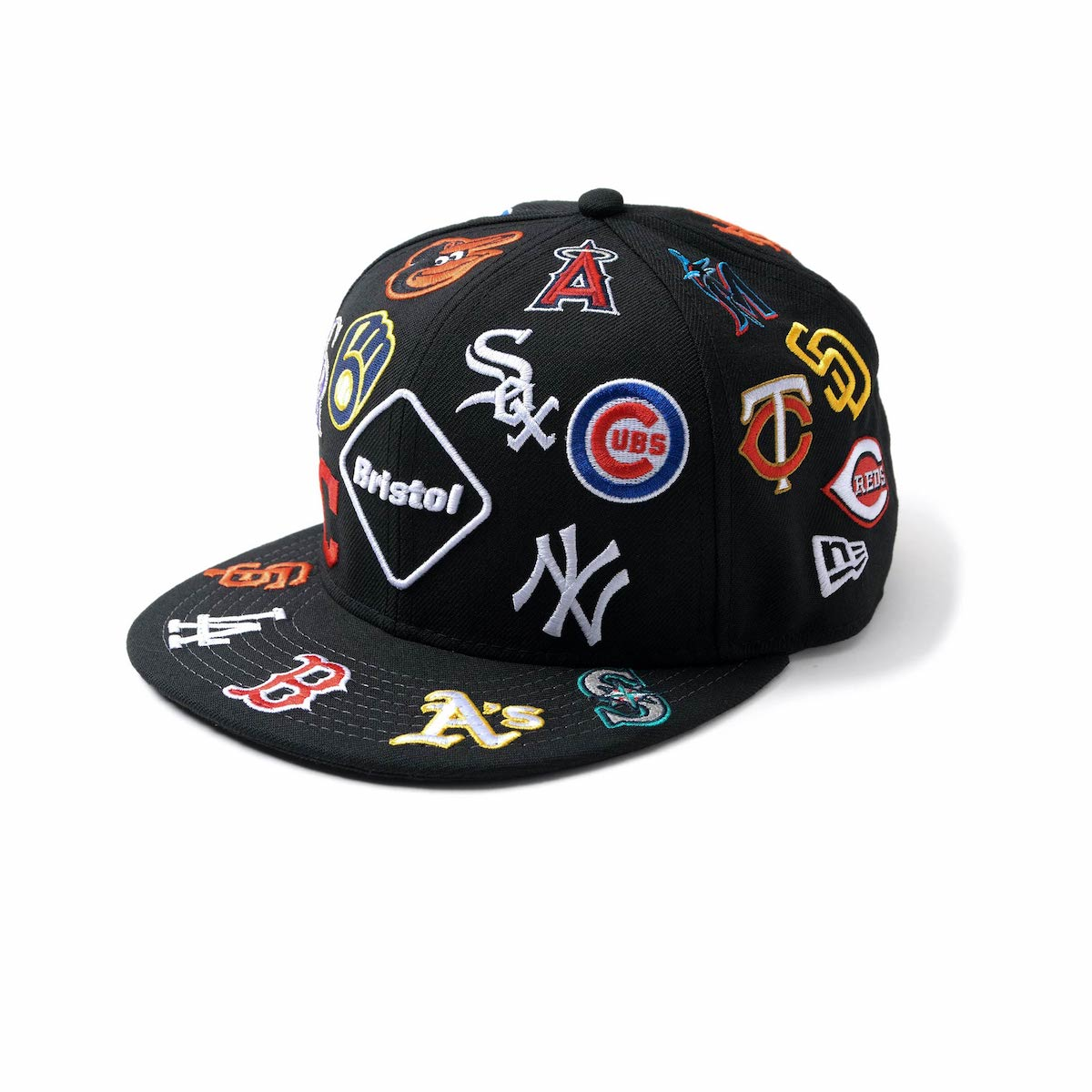F.C.Real Bristol / NEW ERA MLB TOUR ALL TEAM 9FIFTY CAP (Black)