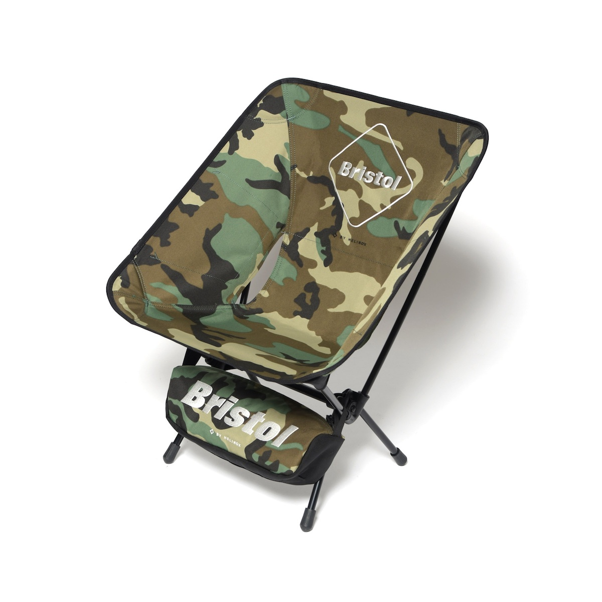 F.C.Real Bristol / HELINOX EMBLEM FOLDING CHAIR -Woodland