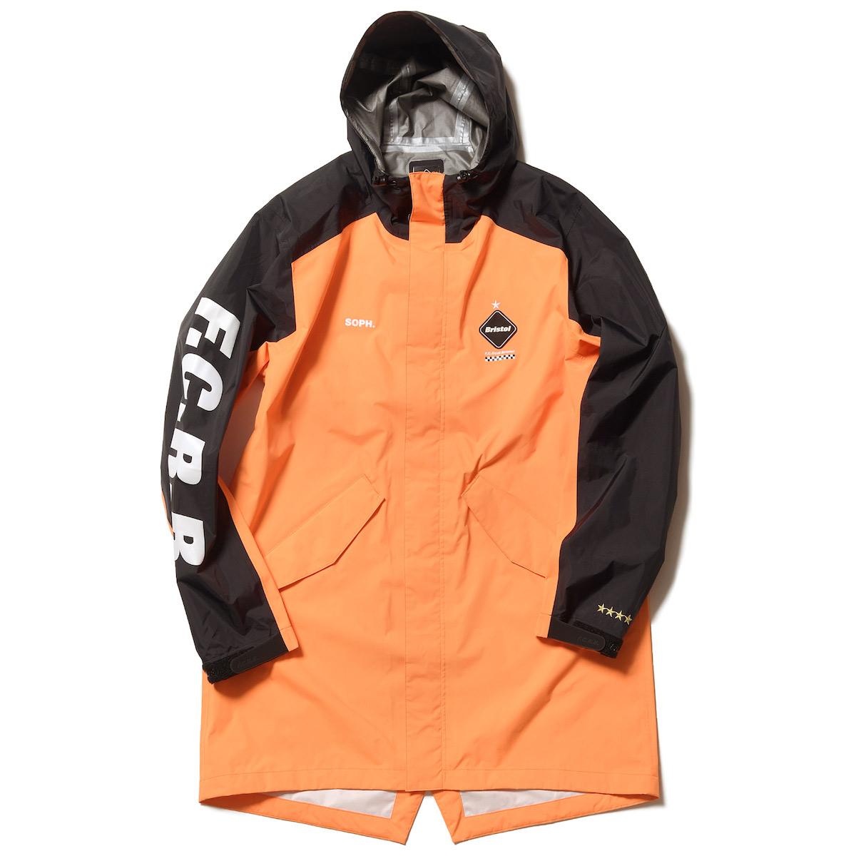 F.C.Real Bristol / BENCH RAIN COAT -Orange