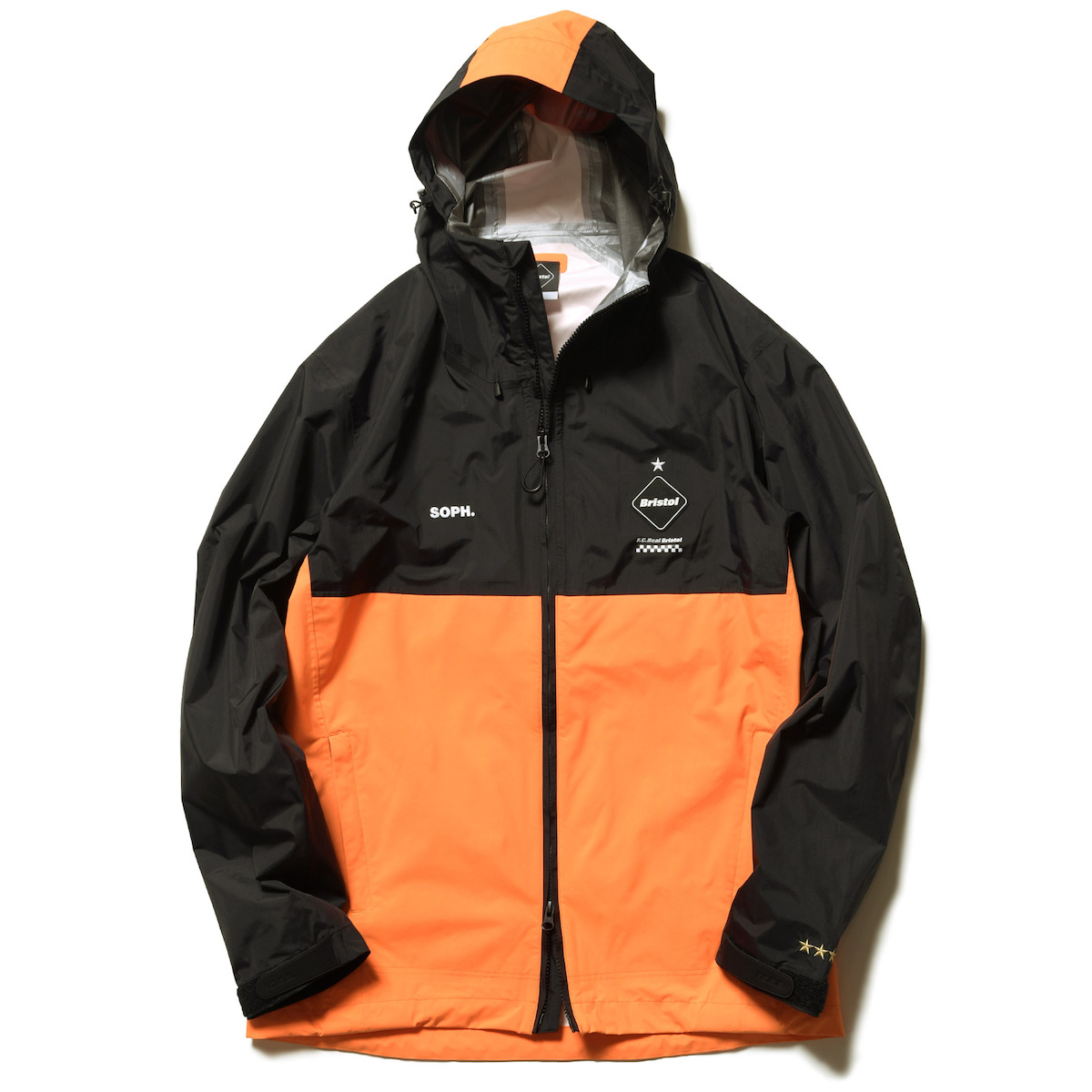 F.C.Real Bristol / RAIN JACKET -Orange