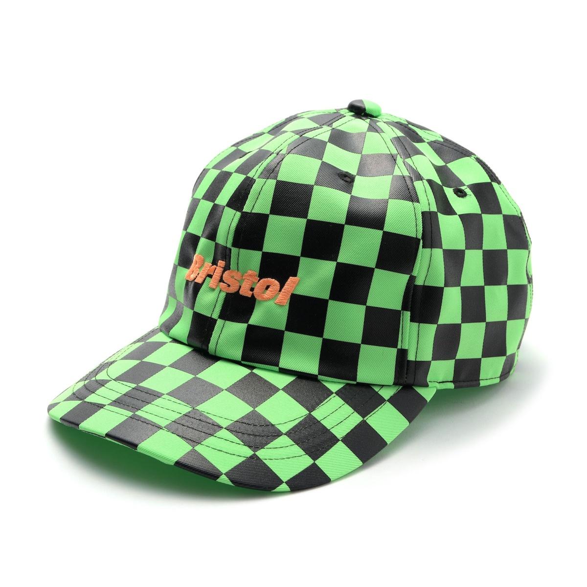 F.C.Real Bristol / CHECKER CAP -Green