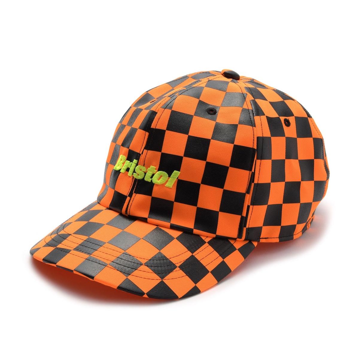 F.C.Real Bristol / CHECKER CAP -Orange