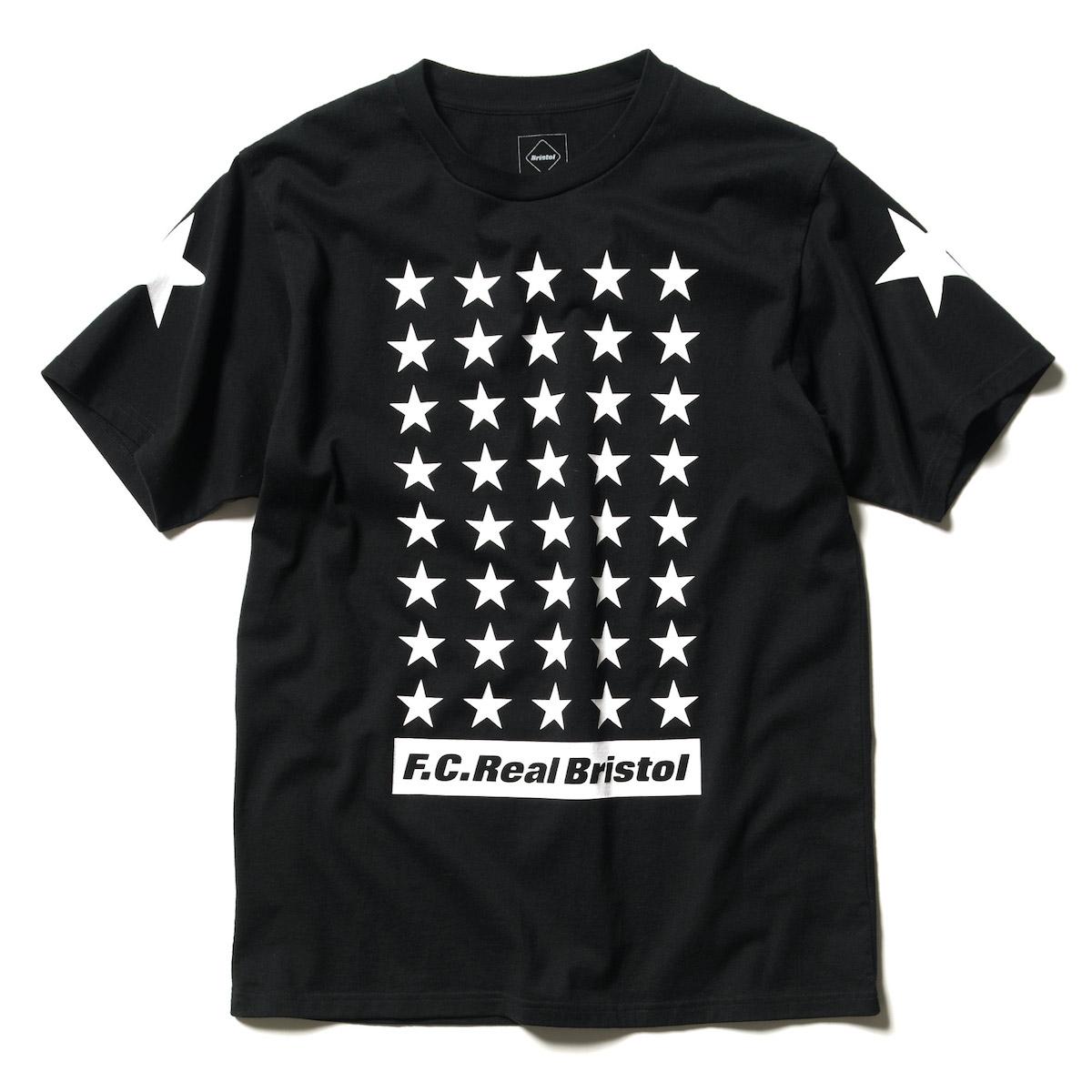 F.C.Real Bristol / 42 STARS TEE -Black