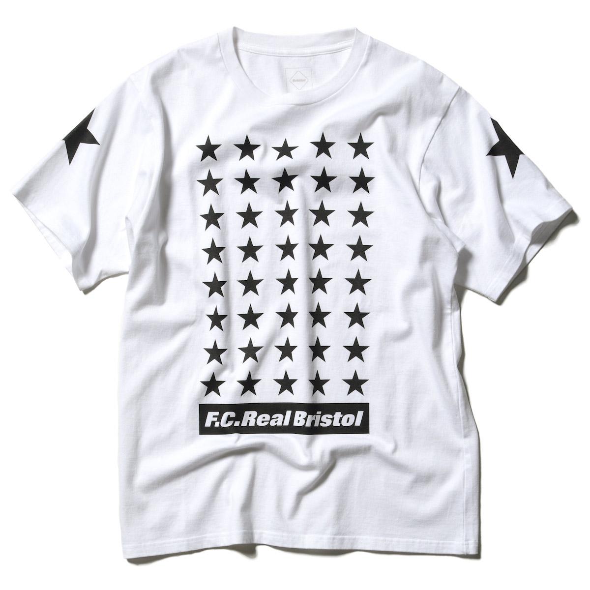 F.C.Real Bristol / 42 STARS TEE -White