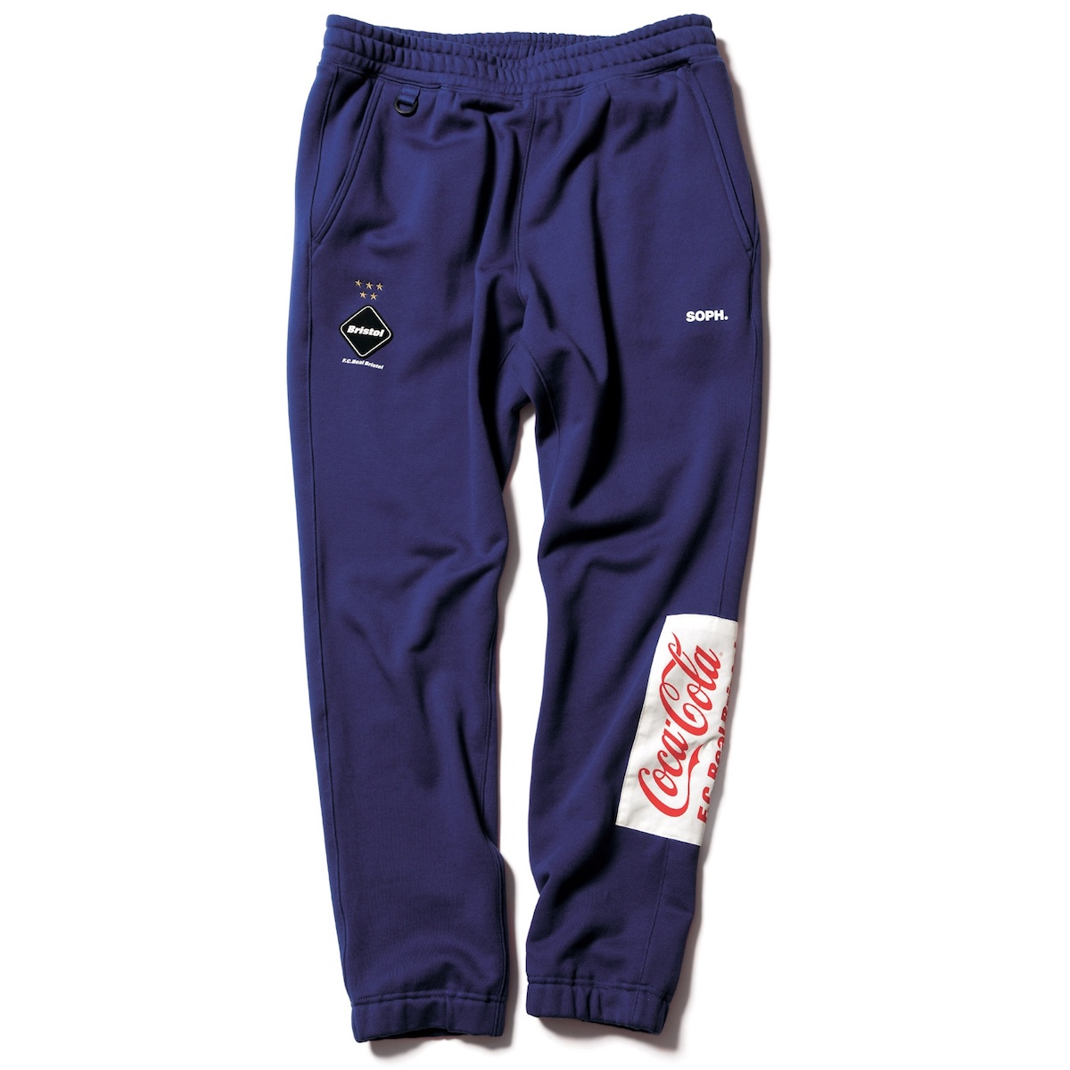 F.C.Real Bristol / COCA-COLA PATCHED SWEAT PANTS (Navy)