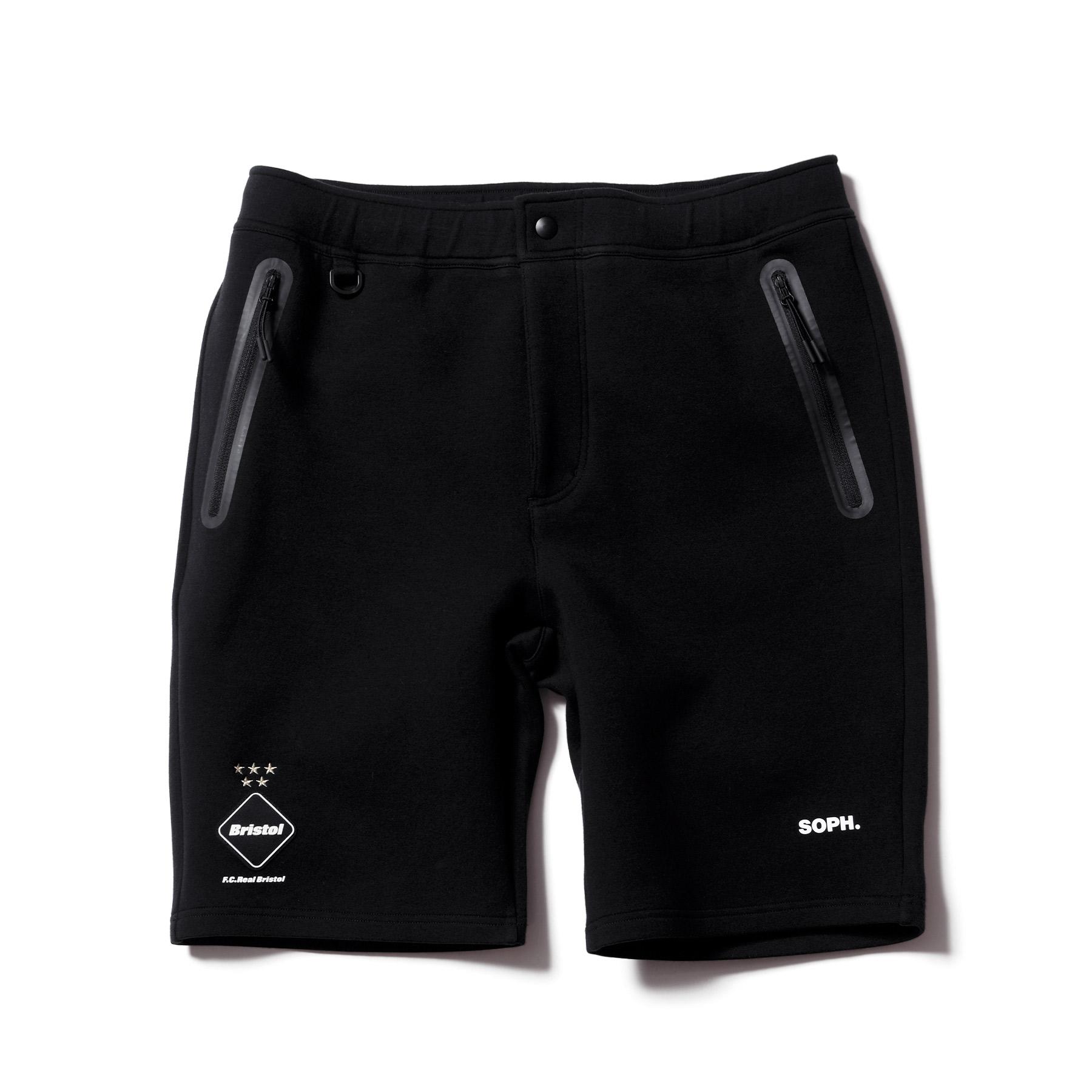 F.C.Real Bristol / SWEAT TRAINING SHORTS (Black)