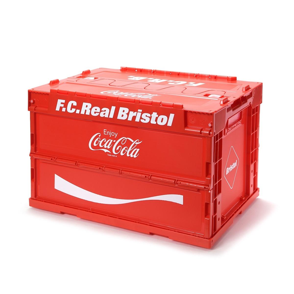 F.C.Real Bristol / COCA-COLA FOLDABLE CONTAINER (Red)