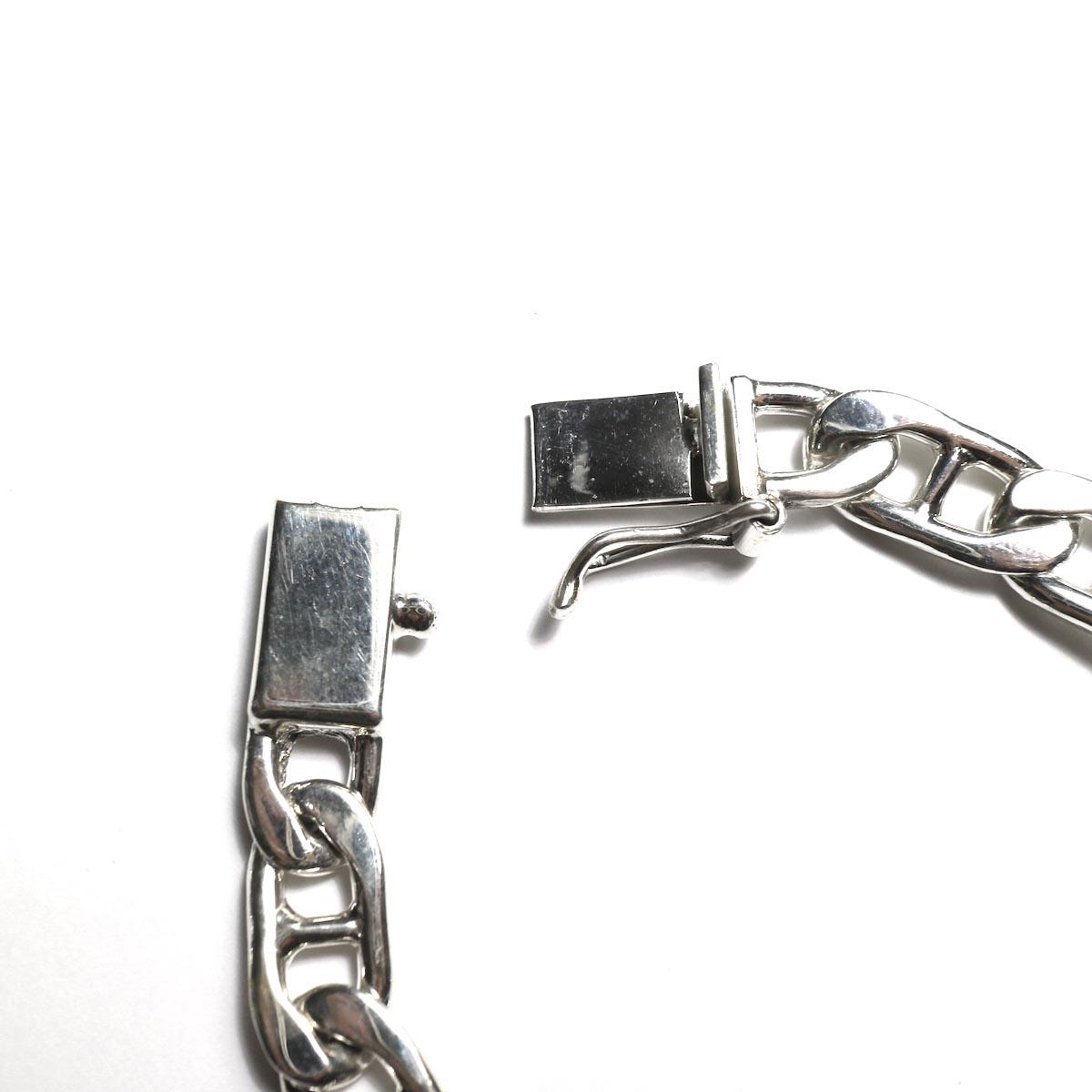 FIFTH SILVER / silver-1490-1 Silver Chain Bracelet (8mm) 着脱部分
