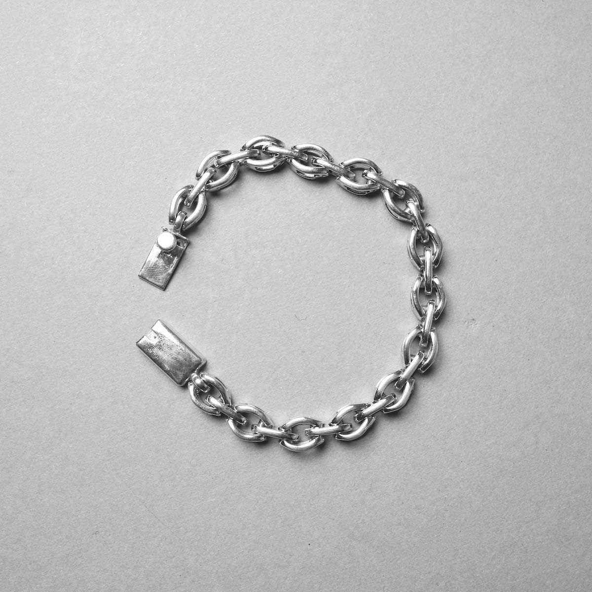 FIFTH GENERAL STORE / Silver-CCC-2 Silver Chain Bracelet (7mm)