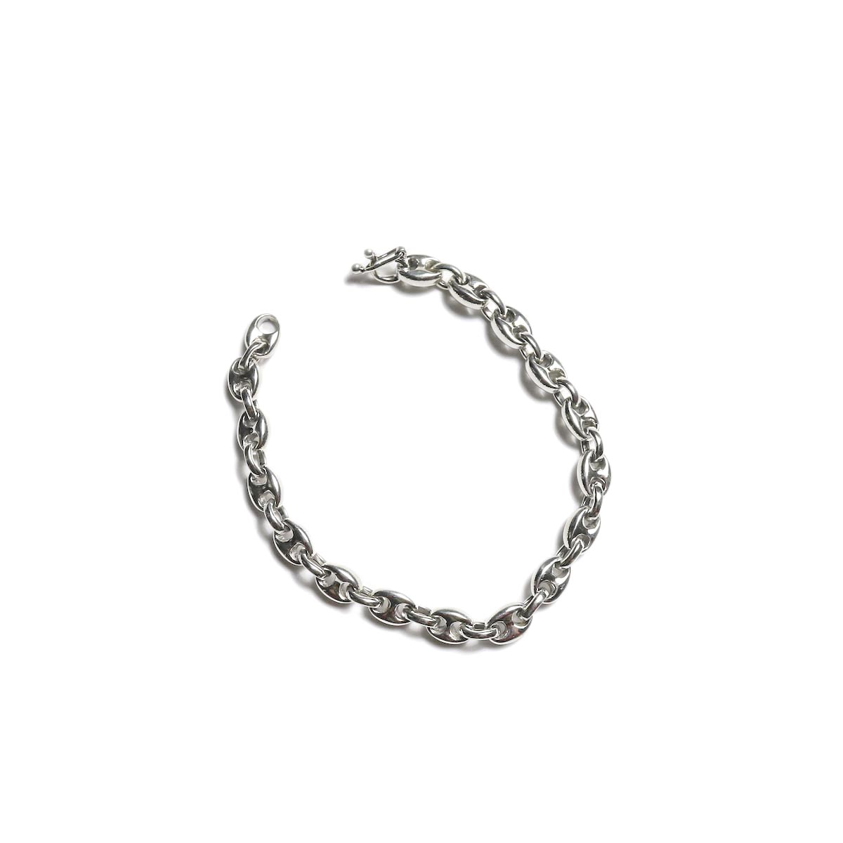 FIFTH SILVER / Special-001 Silver Chain Bracelet (6mm) 正面