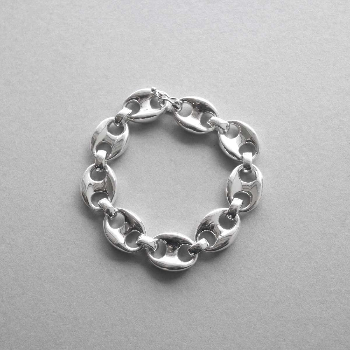 FIFTH GENERAL STORE / Special-002 Silver Chain Bracelet (14mm)
