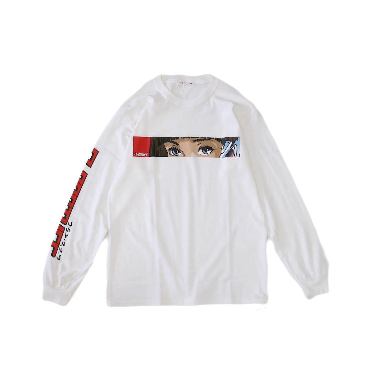 F-LAGSTUF-F / Dream Long Sleeve Tee -White