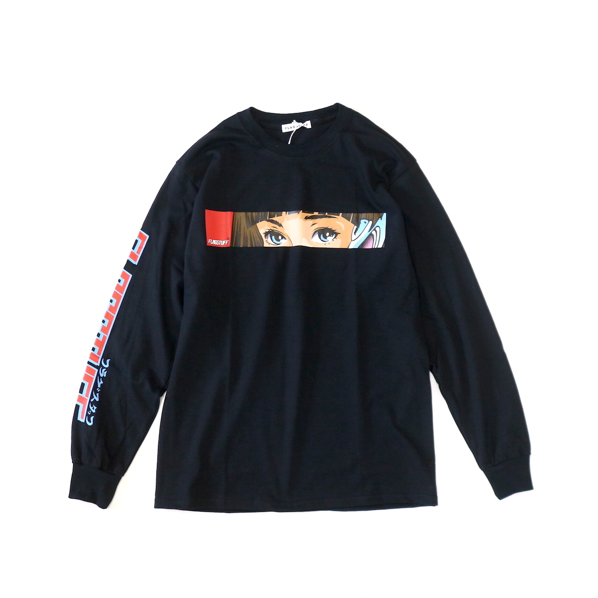 F-LAGSTUF-F / Dream Long Sleeve Tee -Black