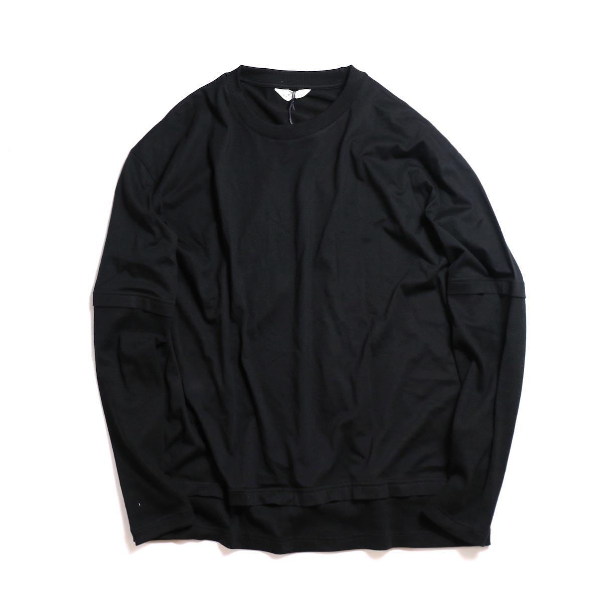 FLAMAND / GANG TEE -BLACK