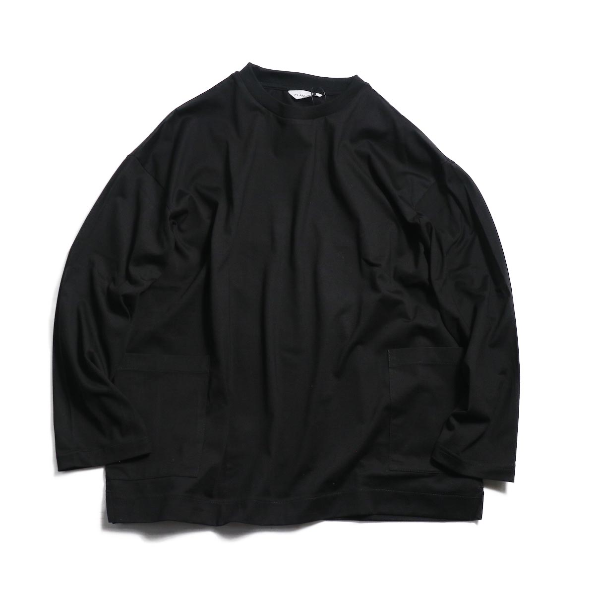 FLAMAND / LS NORTH SEA SMOCK -NOIR