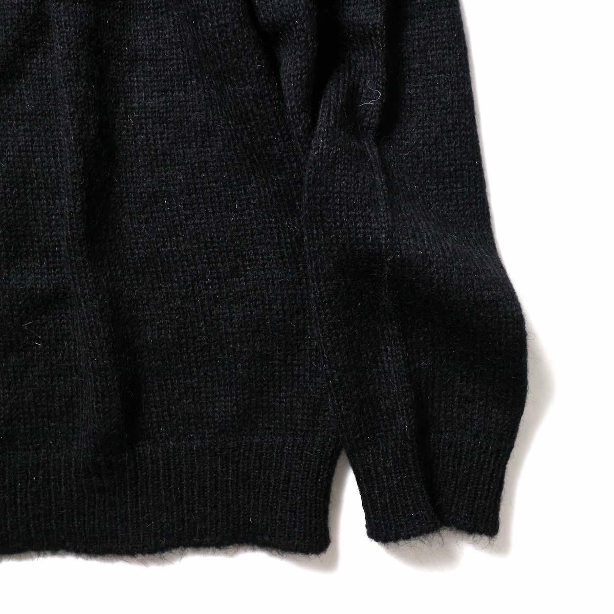FLAMAND / Mohair Basic (Black)袖、裾