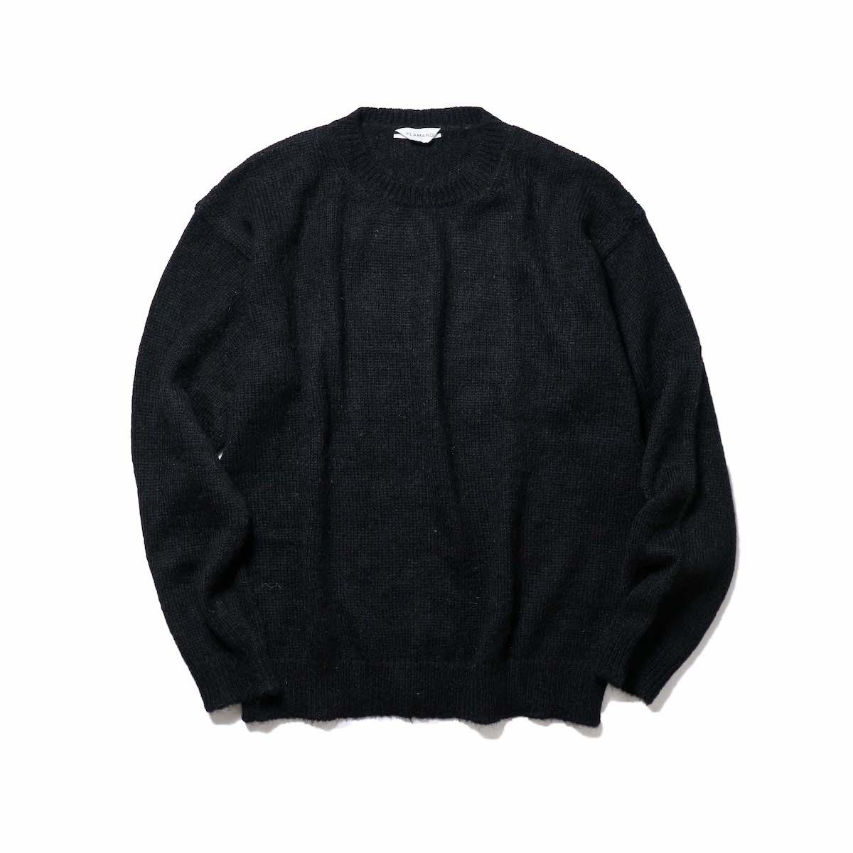FLAMAND / Mohair Basic (Black)正面