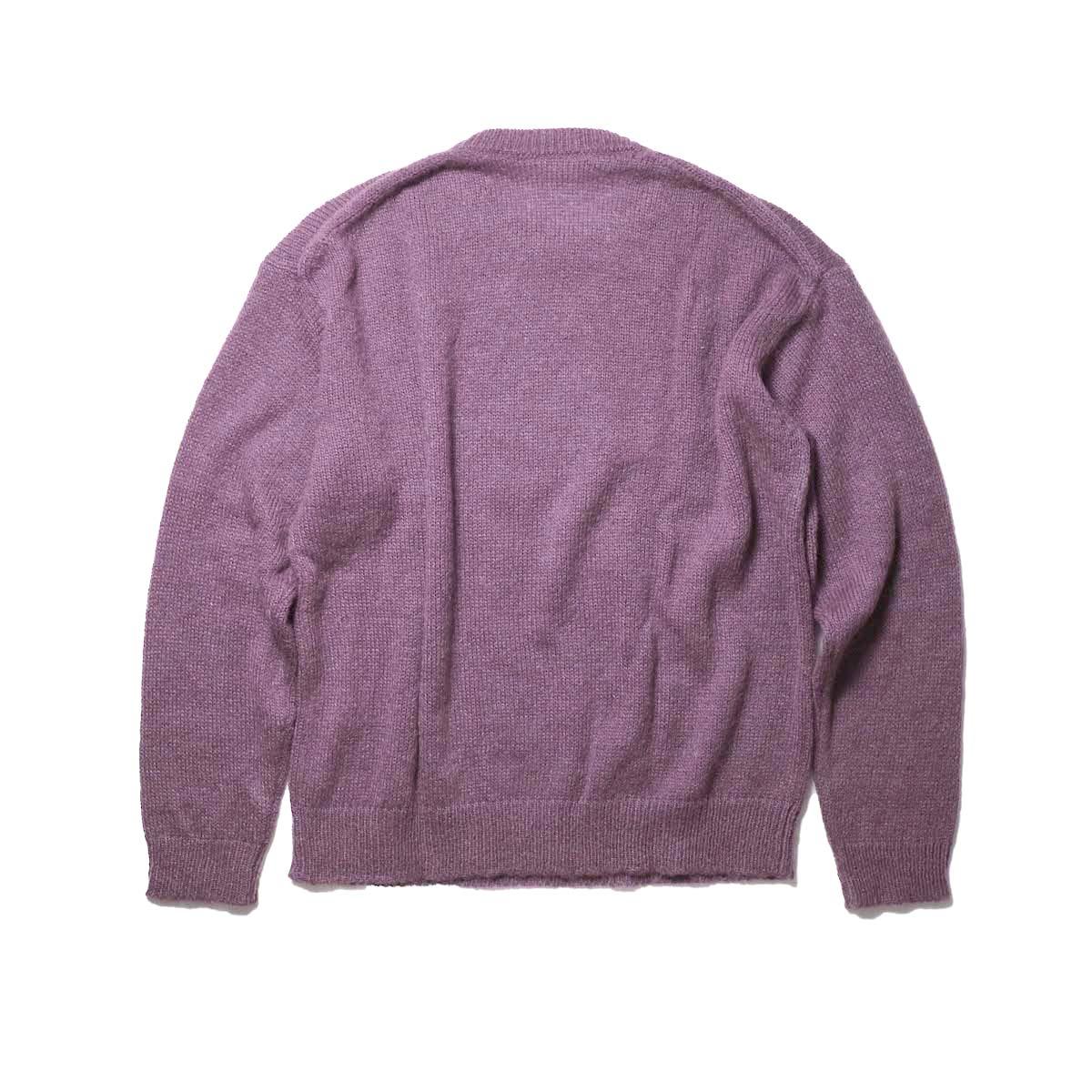 FLAMAND / Mohair Basic (Dark Lavender)背面