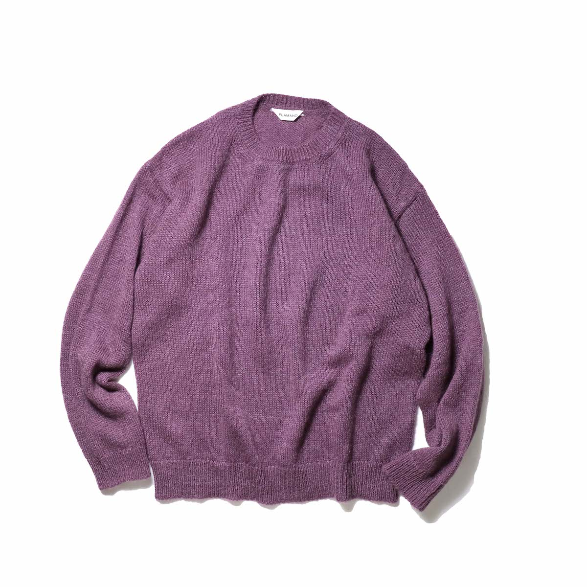 FLAMAND / Mohair Basic (Dark Lavender)正面
