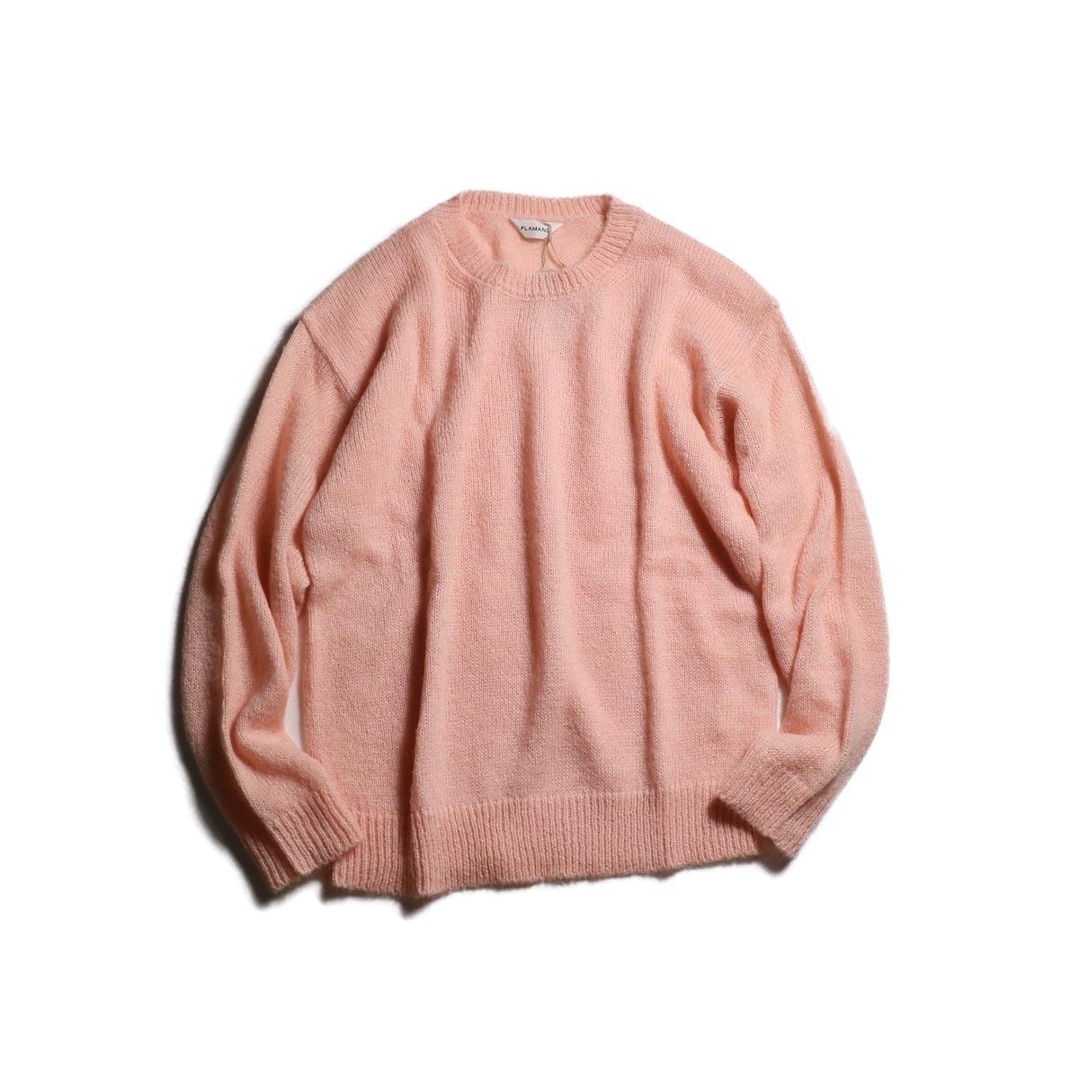 FLAMAND / Mohair Crew (Pink)