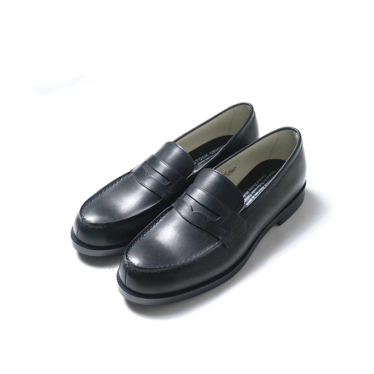 FOOTSTOCK ORIGINALS / LOAFER (Black)トップ