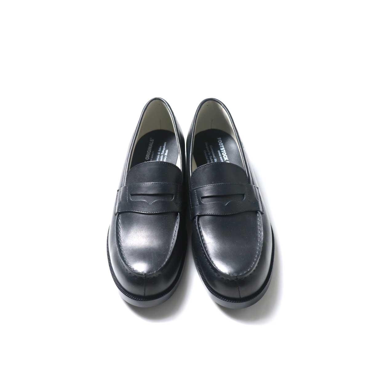 FOOTSTOCK ORIGINALS / LOAFER (Black)正面