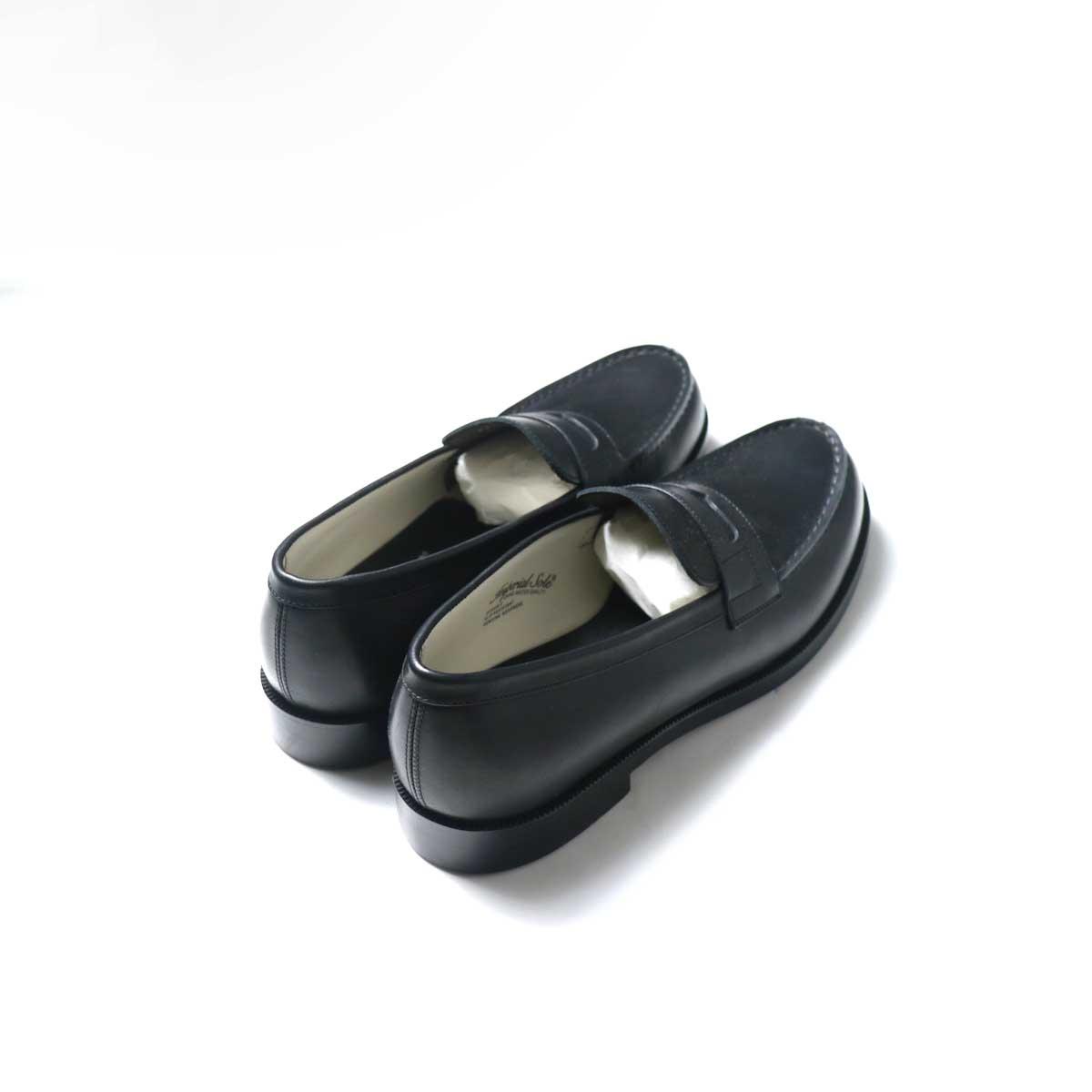 FOOTSTOCK ORIGINALS / LOAFER (Black)背面