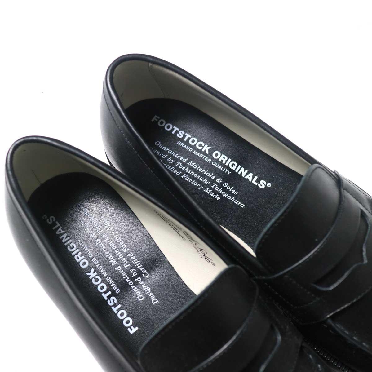 FOOTSTOCK ORIGINALS / LOAFER (Black)インソール